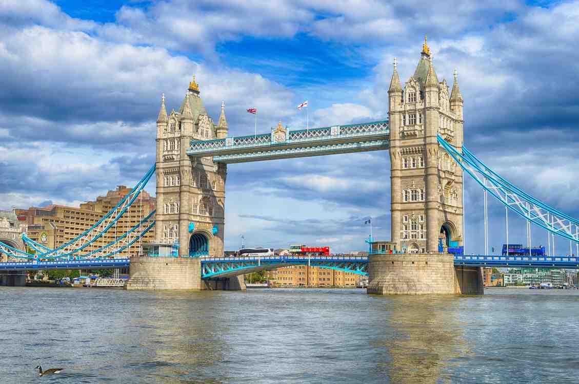 Zie de Tower Bridge