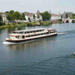Beleef een boottocht over de Maas @Fotocredits Maastricht Marketing fotografie NBTC