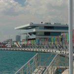Zie de haven van Valencia